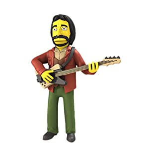 "NECA The Simpsons 25th Anniversary - Figura de acción Coleccionable de John Entwistle (The Who) 5"" Serie 2 4"