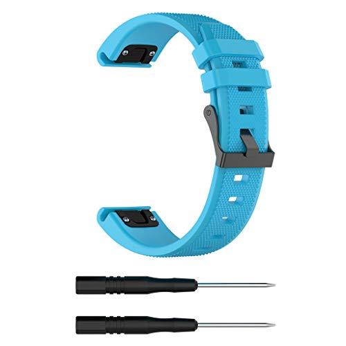 BASSK Ersatz-Armband für Garmin Forerunner 935 / MarQ / Fenix5 Plus