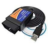 VDIAG ELM327 USB Interface V1.5 OBDII OBD2 Auto Scanner Diagnosewerkzeug Kabel