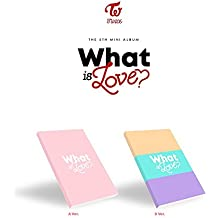 JYP Entertainment TWICE - WHAT IS LOVE? [Random ver.] (5th Mini Album) CD+Photocards+Sticker+Pre-Order Benefit+Folded Poster+Free Gift