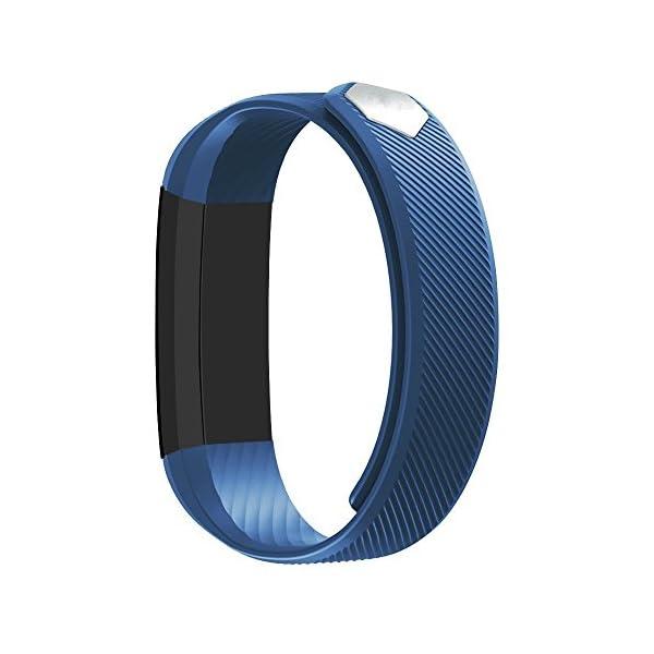 Rayfit Pulsera Actividad Inteligente Reloj Deportivo Fitness Tracker Monitor de Sueño Contador de Calorías Reloj Cuenta Pasos Ejercicio Salud Podómetro Pulsera Inteligente para Mujer Hombre Niños 8