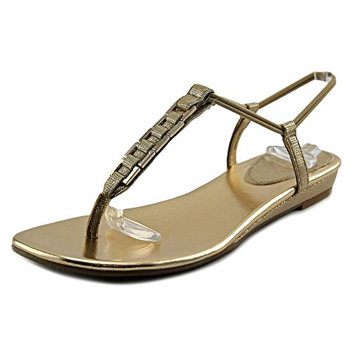 Style & Co Edith Donna US 7 Oro Infradito