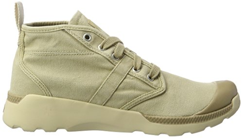 Palladium Pallaville Hi Cvs, Sneakers Basses Homme Beige (Sahara/ecru)