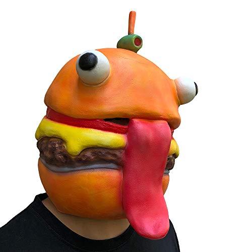 Kostüm Doll Dead Kind - Halloween Horror Maske Cosplay Durr Burger Schmelzen Gesicht Scary Halloween Maske Latex Kostüm Maske Spielzeug für Männer Kinder