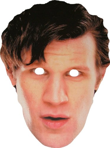 Doctor Who - 11th Doctor - Card Face Mask