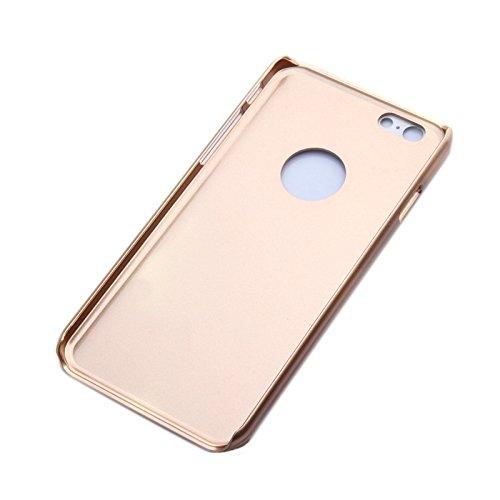 GHC Cases & Covers, UV Shimmering Powder Diamond-verkrustete schützende Hard Case für iPhone 6 Plus & 6S Plus ( Color : Gold ) Gold