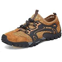 Flarut Sandali Sneakers Sportivi Estivi Uomo Trekking Scarpe da Spiaggia  All aperto Pescatore Piscina Acqua 5484d072c71
