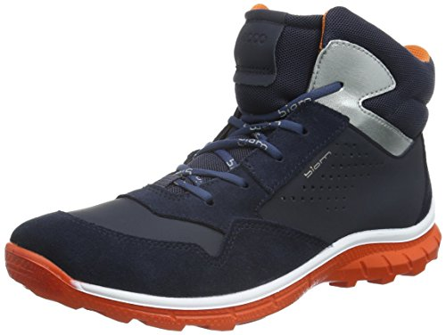 Ecco Unisex-Kinder Biom Trail Kids Outdoor Fitnessschuhe Blau (MARINE/MARINE/MARINE/FIRE 59995)