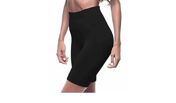 f77378f3c1 Lupo Loba Women s Emana Anti Cellulite Bermuda Shorts Shapewear - Black -   Amazon.co.uk  Clothing