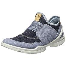 ECCO BIOMSTREETW, Slip-on Sneaker Donna, Blu (Dusty Blue/Marine 51746), 39 EU