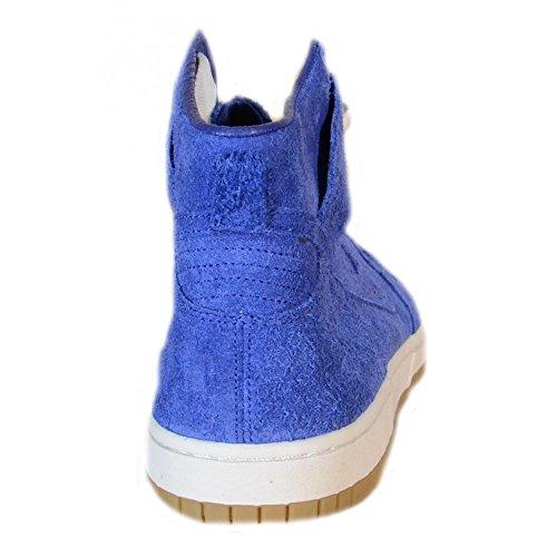 Nike - Nike Dunk High 08 Decons Prm Scarpe Sportive Azzurre Pelle 514778 Azzurro
