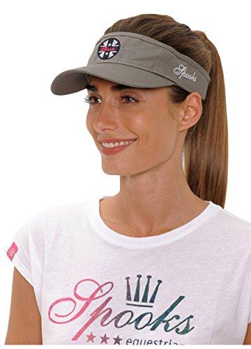 Spooks SPOOKS Cap, Kappe für Damen Frauen Mädchen Kinder, Schirmmütze, Cappy, Baseball Mütze, Schirm, Baseballmütze - Isi Halfcap Khaki OneSize