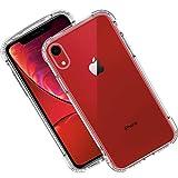 Syncwire Coque iPhone XR Transparente - iPhone XR Coque avec Protection Anti-Chute et Technologie Renforcée de Coussin d'air pour Apple iPhone XR 6.1'' (2018) - Armor Séries, Transparent