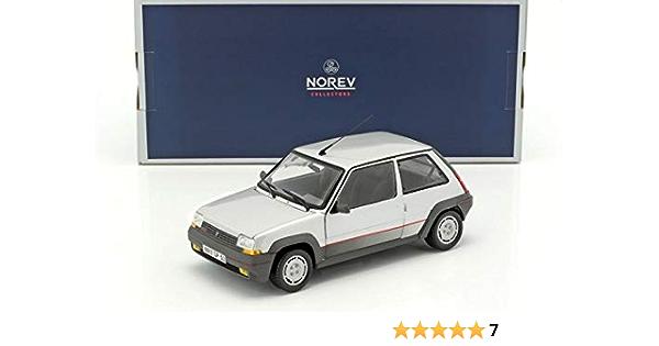Norev Nv185209 1 18 Renault Supercinq Gt Turbo 1985 Silber Spielzeug