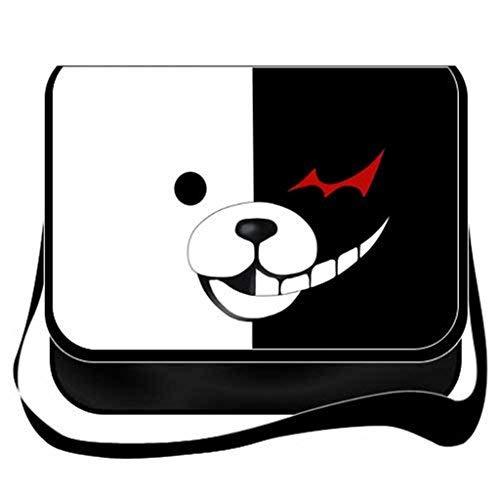 ANRONPA Cosplay Messenger Bag Umhängetasche Handtasche Umhängetasche Rucksack Schultasche schwarz 28 ()