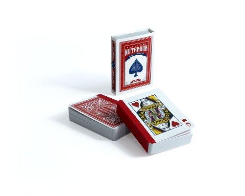 SUCK UK Spielkarten-Notizbuch