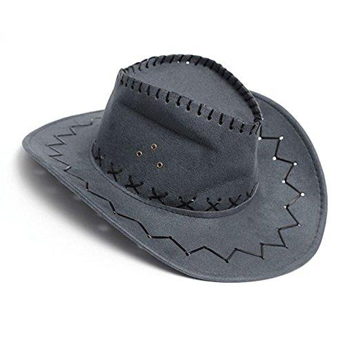 Sombrero - SODIAL(R)Retro Unisex Sombreros accesorio del vestido de lujo de  Rodeo 8a217750dfc