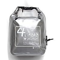 Jannyshop 4L Wasserdichte Erste Hilfe Tasche für Auto Picknick Camping Schulter oder Taille Schwarz Rot Silber preisvergleich bei billige-tabletten.eu