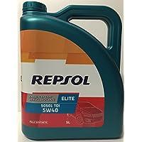 REPSOL RP135X55 Aceite lubricante para Coche, Transparente Dorado