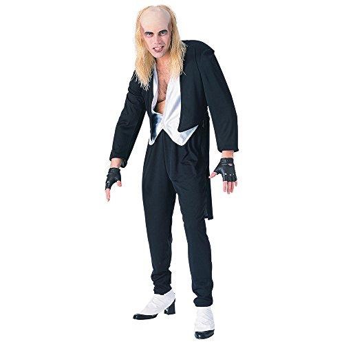 Riff Kostüm Horror Raff Rocky - Bristol Novelty AC304 Riff Raff Kostüm, Medium, Herren, Mehrfarbig, M