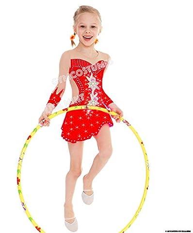 Robe de Patinage Artistique, Cucurbitacées robe, danse Mariechen Show danse robe Carnaval robe, Cucurbitacées, rollk unstl sur la robe