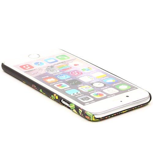 URCOVER Coque Tribal avec Dessin d' Animaux | Cover Apple iPhone 6 / 6s | Back Case Rigide et Fin | Singe | Housse Motif Colorée Fantaisie Multicolore Singe