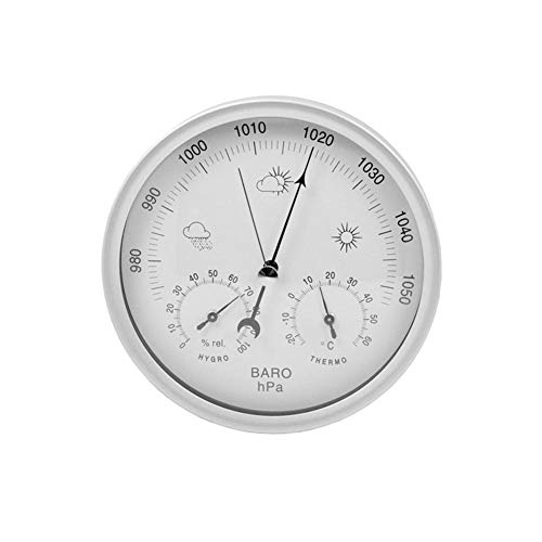 Xploit 1 STÜCK 3 in 1 Indoor und Outdoor Hygrometer Thermometer Barometer Luftfeuchtigkeit Tester Marine Luftdruckprüfer
