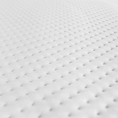 Hochwertiger Visco Topper Matratze und Boxspringbett in verschiedenen Größen erhältlich,made in Germany, Bezug waschbar bis 60 Grad, ÖKO-TEX , für Rollmatratze und Zonen Kaltschaummatratze (180 x 200 cm)