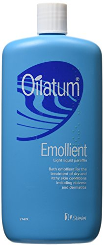 Oilatum Emollient for Eczema and Dry Skin Conditions (Light Liquid Paraffin), Read the Label, 500 ml