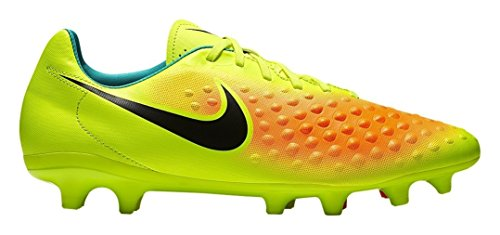 Nike Magista Onda Ii Ag-Pro, Chaussures de Football Homme Amarillo (Volt / Black-Total Orange-Clear Jade)