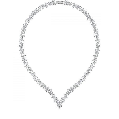 swarovski-damen-collier-diapason-all-around-v-rhodiniert-kristall-transparent-40-cm-5184273