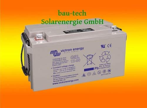 Batterie 90Ah 12V GEL Deep Cycle Victron Energy Photovoltaik Nautisch Camper (Batterie-deep Cycle -)