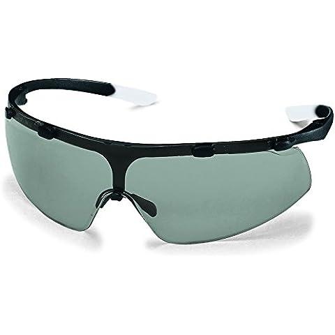 Superfit Sunglare lenti Uvex-Occhiali di sicurezza, colore: grigio