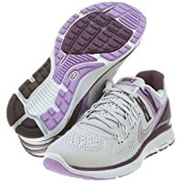 Nike LunarEclipse + 3 - Strata grigio / argento Reflect-grand Viola, 6 B Us
