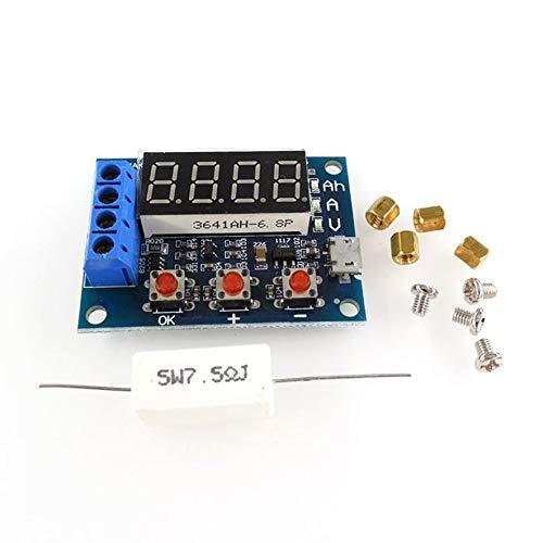 8Eninide Battery Capacity Tester Module LED Li-ion Lithium 18650 Battery Analyzer Board