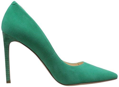 Nine West Tatiana Leather Pump Dress green