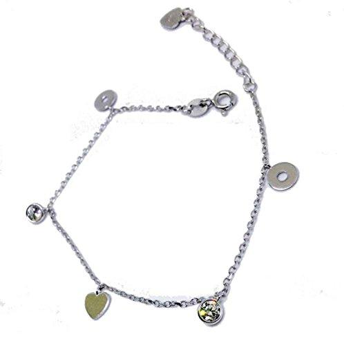 Charms Armband Silber