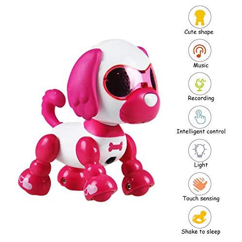 Bloomma USB Roboter Hund Gehen Sprechen Tanzen Fernbedienung Hund Spracherkennung Hund fit Kinder