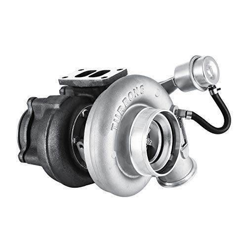 Mophorn Diesel-Turbolader HX35W Turbolader mit interner Wastegate-Turbine für 99 bis 02 2500 3500 5,9L-Lkw 6BT-Cummins-Motor (HX35W) - Cummins-diesel-motor