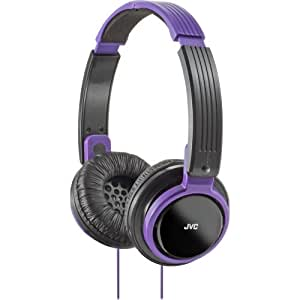 "Jvc Ha-S200-V Violet ""Riptidz"" On-The-Ear Hp's"
