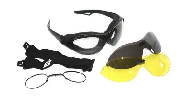 Birdz Phoenix Interchangeable Sunglasses//Goggles 3 Lenses Prescription Rx Insert
