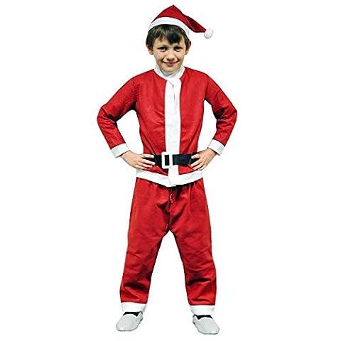 Garçons/Enfant/Père Noël pour Enfant–4pièces