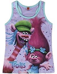 TROLLS Camiseta niña tirantes poppy + REGALO pompero de Trolls
