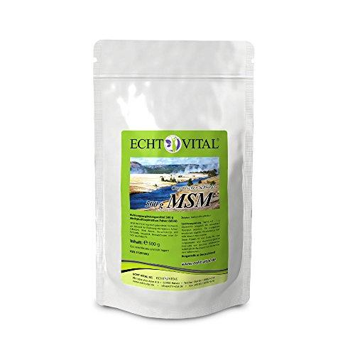 ECHT VITAL MSM – 1 Beutel / 500g Pulver