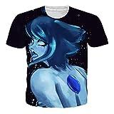 OPCOLV Girl Ahegao T-Shirt Manga Tee T-Shirt Anime T-Shirt Comics Coupe Slim Fit pour Les Hommes