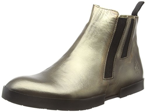 FLY London Evan777fly, Bottes Chelsea Femme Marron (Bronze 005)