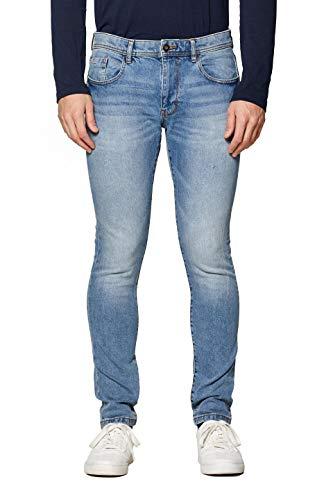 edc by ESPRIT Herren 029Cc2B007 Skinny Jeans, Blau (Blue Medium Wash 902), W36/L32 (Herstellergröße: 36/32)