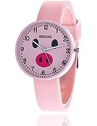 xbwwt - Relojes de Cuarzo con diseño de Cerdo para Estudiantes, Ideal para Regalo de