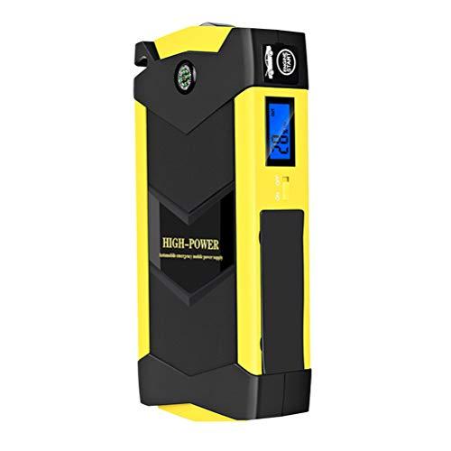 booster batteria per auto con cavo intelligente per tutti i motori diesel a benzina//6.5L tipo C uscita DC 1500 A Avviatore Powerbank punta terza generazione con QDSP torcia a LED TrekPow G22