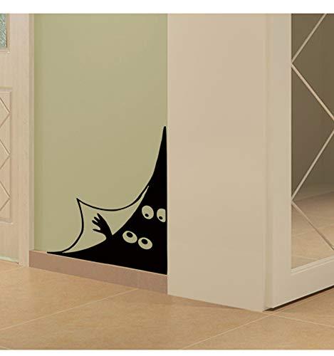 Lustige Peeping Eyes Wandaufkleber Tür/Wand Ecke Wohnkultur Wohnzimmer Hintergrund Dekoration Wandkunst Aufkleber Kreative Aufkleber